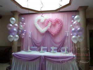 Оформление свадьбы в фиолетовом цвете оригинально