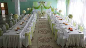 Оформление свадеб в фисташковом цвете в Москве