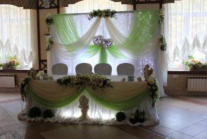 Оформление на свадьбу в фисташковом цвете дешево