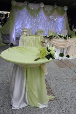 Украшение свадеб в фисташковом цвете дешево