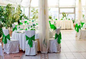 Украшение свадьбы в фисташковом цвете фото