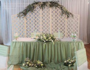 Украшение на свадьбу в фисташковом цвете недорого в Москве