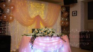 Оформление на свадьбу в цвете фуксия цены