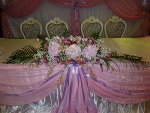Декор на свадьбу в цвете фуксия недорого цены