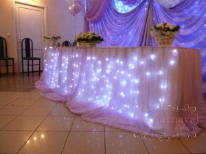 Оформление на свадьбу в цвете фуксия в Москве