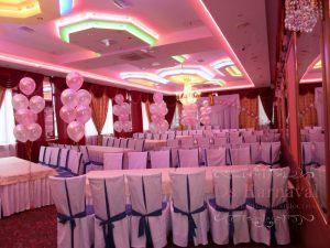 Оформление свадеб в цвете фуксия недорого в Москве