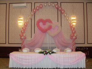 Оформление на свадьбу в цвете фуксия фото
