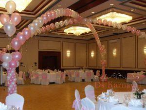 Украшение на свадьбу в цвете фуксия дешево