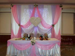 Декор на свадьбу в цвете фуксия фото и цены