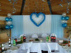 Оформление свадьбы в голубом цвете недорого в Москве
