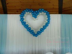 Оформление свадьбы в голубом цвете недорого