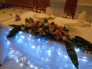 Оформление свадеб в голубом цвете фото