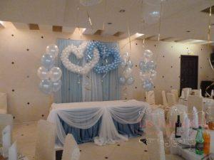 Декор свадеб в голубом цвете недорого цены