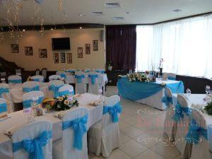 Украшение свадеб в голубом цвете фото и цены