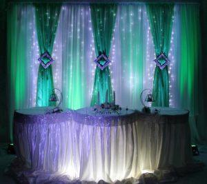 Декор свадьбы в изумрудном цвете фото и цены
