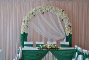 Декор свадеб в изумрудном цвете дешево