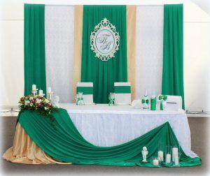 Декор свадеб в изумрудном цвете недорого цены