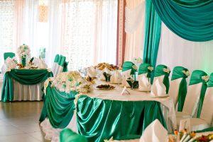 Декор свадеб в изумрудном цвете недорого