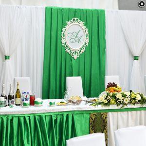 Оформление свадеб в изумрудном цвете фото