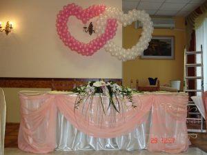Украшение свадеб в коралловом цвете красиво