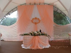 Декор свадьбы в коралловом цвете цены