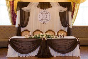 Декор свадеб в коричневом цвете недорого