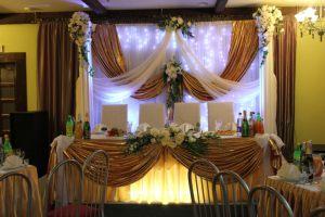 Оформление свадьбы в коричневом цвете красиво