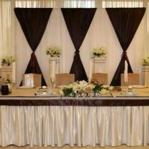 Украшение свадеб в коричневом цвете недорого в Москве