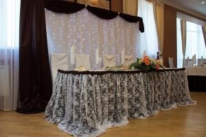 Декор свадьбы в коричневом цвете цены