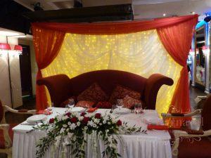 Оформление на свадьбу в красном цвете недорого цены