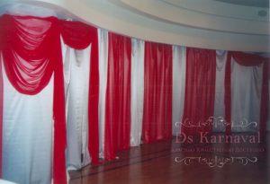 Декор свадьбы в красном цвете недорого
