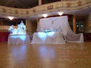 Оформление на свадьбу в кремовом цвете оригинально