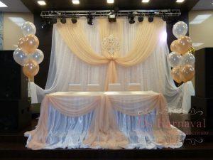 Декор на свадьбу в кремовом цвете оригинально