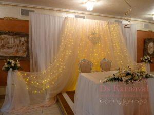 Украшение свадеб в кремовом цвете цены