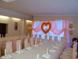 Украшение свадеб в кремовом цвете недорого