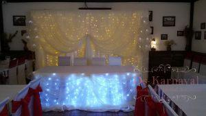 Декор свадьбы в кремовом цвете в Москве