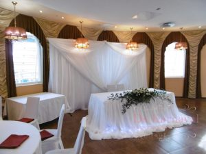 Оформление на свадьбу в кремовом цвете фото