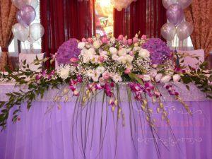 Оформление свадьбы в лавандовом цвете недорого в Москве