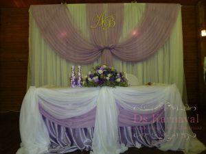 Декор на свадьбу в лавандовом цвете красиво