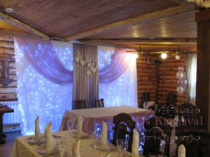 Украшение свадьбы в лавандовом цвете недорого в Москве
