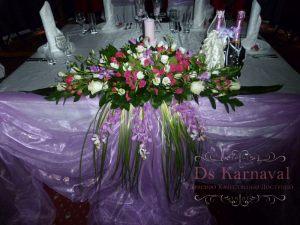 Декор свадеб в лавандовом цвете недорого