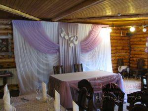 Оформление свадьбы в лиловом цвете недорого в Москве