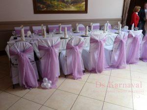 Украшение свадеб в лиловом цвете оригинально