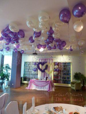 Декор на свадьбу в лиловом цвете фото и цены