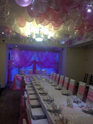 Оформление свадьбы в лиловом цвете в Москве
