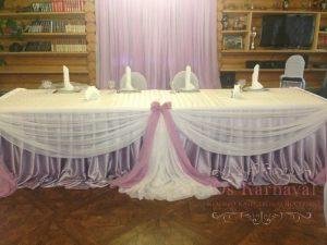 Декор свадеб в лиловом цвете недорого в Москве