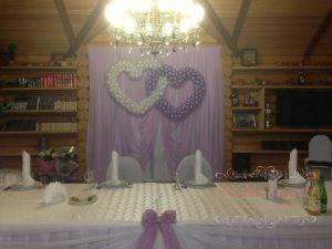 Украшение свадеб в лиловом цвете фото