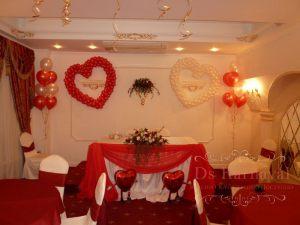 Декор свадьбы в малиновом цвете недорого в Москве