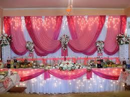 Декор свадьбы в малиновом цвете красиво