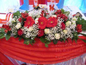 Декор на свадьбу в малиновом цвете фото